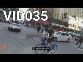 VID035 - Loud Car Horn on a Bicycle - Part 2 - YouTube